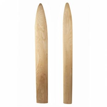 Hardwood Fleshing Beams #NSCHWFB